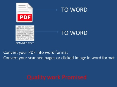 Convert PDF and IMAGE to text