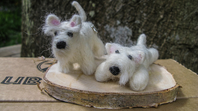 Make a small woolly animal - dog or cat - to order
