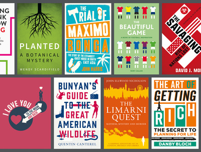 Graphical book cover design