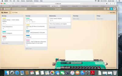 "Setup a ""My Week"" Trello board to maximise your productivity"