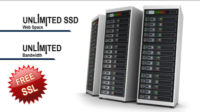 Provide 12 months UK Premium SSD Web Hosting with SSL