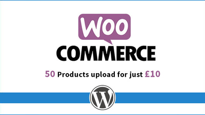 Upload 50 Products On WordPress eCommerce Store