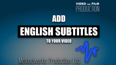 add English subtitles to your video