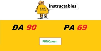 Guest post on Instructables to Provide Strong DA90 Backlink