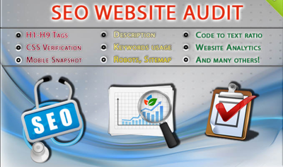 Do Complete SEO and Web Audit Of Your Website