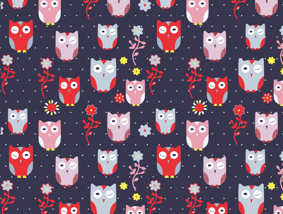 Repeatable pattern for textile, totebag printing