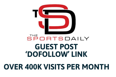 Write and Guest Post on The Sports Daily - Dofollow