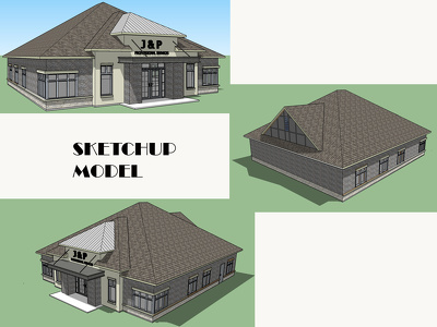 Create Sketchup 3D model from Autocad DWG files