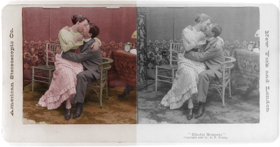 Restore and colorize a photograph