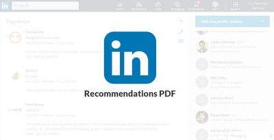 Get the Job with Stunning LinkedIn Reference Graphics!