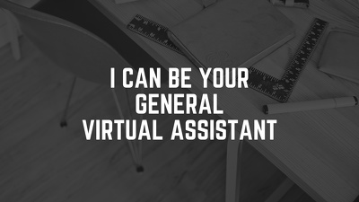 Work as your virtual assistant for 4hrs a day