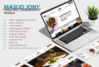 Create Useful,Responsive & Professional Website Slider or Header