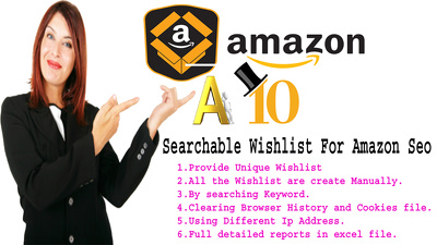 Amazon Wish list From Verified Account Following A10 Algorithm