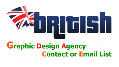 Send you UK 6000 plus GRAPHIC DESIGN Agency Contact list