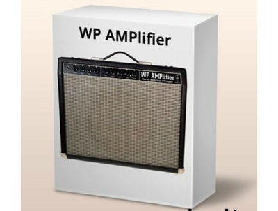 Install WP AMPLIFIER on your WordPress website FOR AMP Pages
