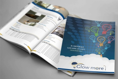4 Page Adobe Indesign brochure with infinite revision