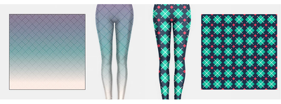 Design Patterns For Leggings Or Yoga Pants