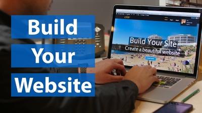 Create a full wordpress site or E_commerce site for ur shop