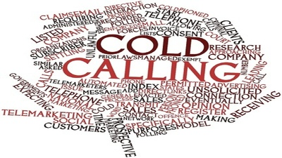 Do positive Cold Calling for Hours