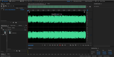 Audio Editing