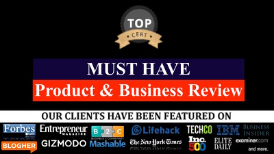 Publish a guest post on Product Review Business Review Blog
