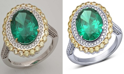 Jewelry retouching & Basic Retouch 4-7 images for you