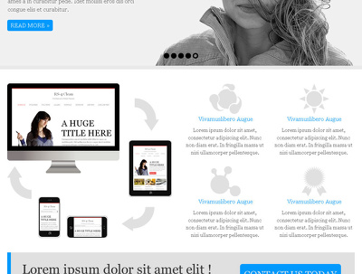 Design a website homepage/landing page& provide you the PSD File