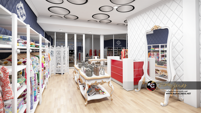 Create your Retail/ branded shop visualization in 3d