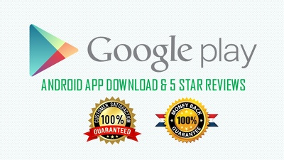 10 Andriod Apps Download with 5 Star Reviews To Promote Your App