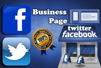 Create or edit your facebook business page professionally