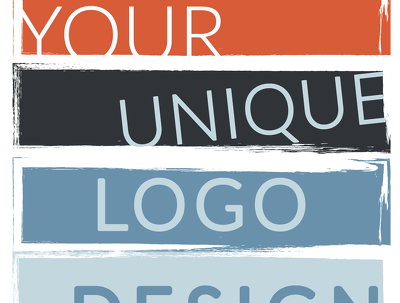 Design unique logo with unlimited revisions + free Favicon