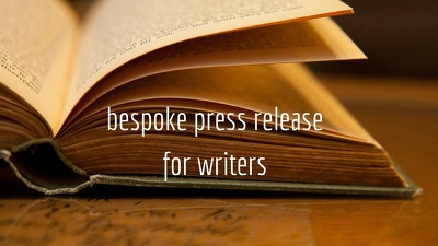 Write a press release specifically for authors