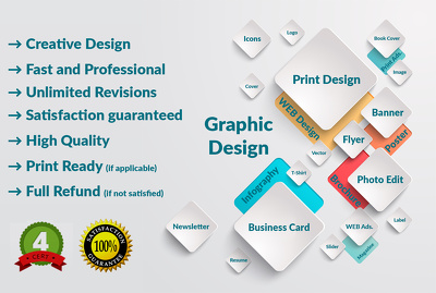 Be your expert Graphic Designer