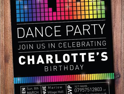 Design a bespoke party invitation