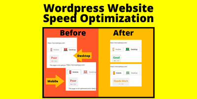 Speed up your Wordpress website speed