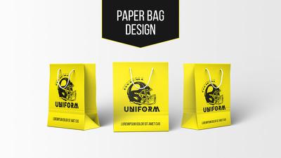 Design a Paper / Shopping Bag