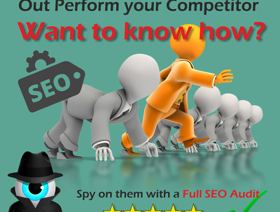 Research your Competitors keywords & Backlinks