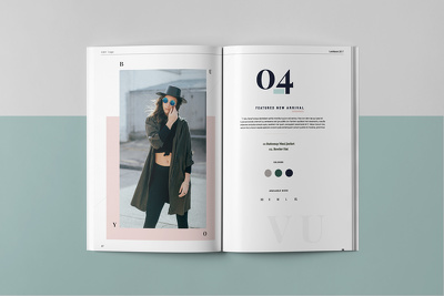 design an Awesome Fashion/Product Lookbook or Brochure for your Brand