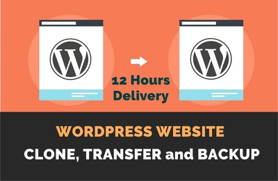 Transfer your Wordpress website from one hosting to another