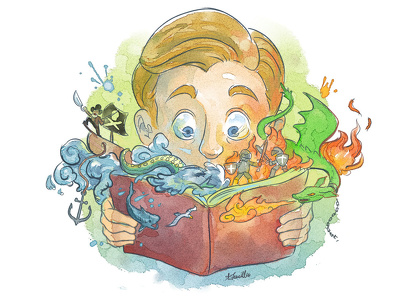 Book or Magazine Illustration