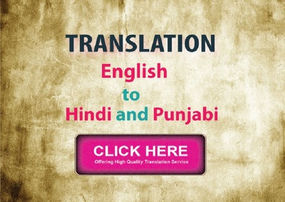Do translation of English Hindi Punjabi (vice versa)