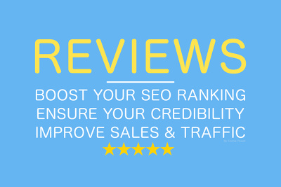 Write and post 3 unique Google reviews for your business' reputation!
