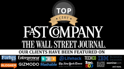 Guest post on Fortune, Fast Company, Inc, WSJ, TIME, Bloomberg