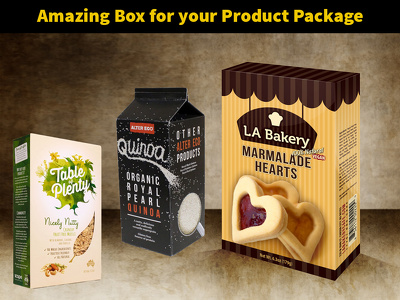 Design an amazing box for your product package