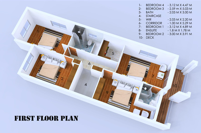 Do 3D model of your 2D floor plan Sketch