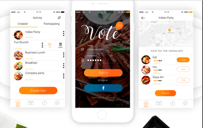 Design mobile app screen with unlimited designs