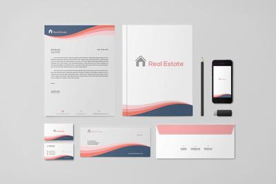 Professional Quality Logo + custom branding stationery