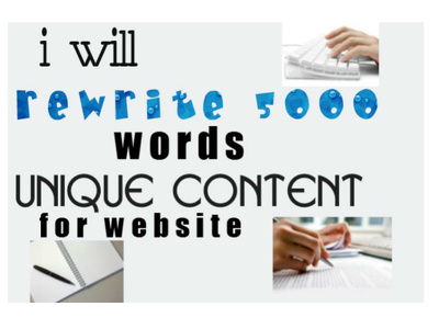 Rewrite 5000 unique content that will pass Copyscape guaranteed