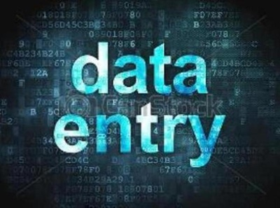 Do all type data entry work written within 4 hours