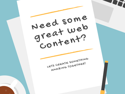 Write some great web content